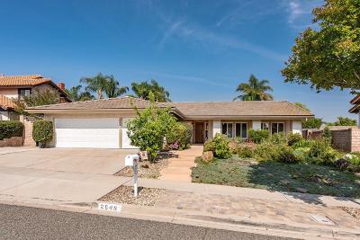 Simi Valley Single Family Home For Sale: 2948 Jadestone Avenue