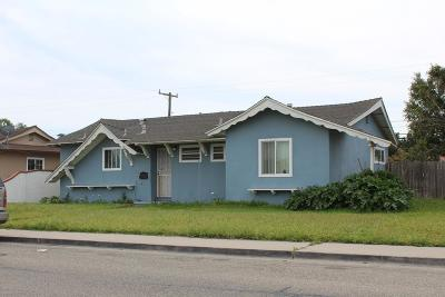 Ventura County Single Family Home For Sale: 700 West Juniper Street