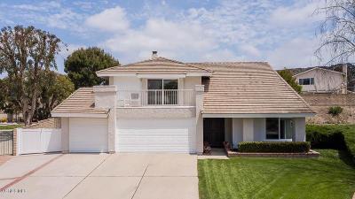 Thousand Oaks Single Family Home For Sale: 725 Woodbine Court