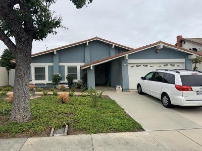 Ventura Single Family Home For Sale: 2490 Woodpecker Avenue