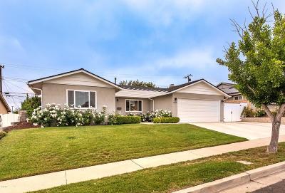 Camarillo Single Family Home Active Under Contract: 1907 Kendall Avenue