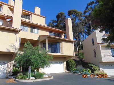 Ventura Condo/Townhouse For Sale: 911 Vallecito Drive