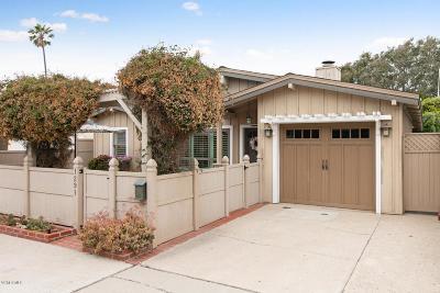 Ventura Single Family Home For Sale: 1291 Hanover Lane