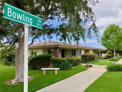 Ventura County Condo/Townhouse For Sale: 176 East Bowling Green