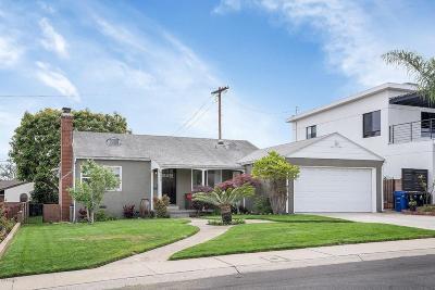 Single Family Home For Sale: 8869 Earhart Avenue