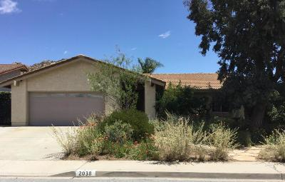 Simi Valley Single Family Home For Sale: 2038 Cheam Avenue