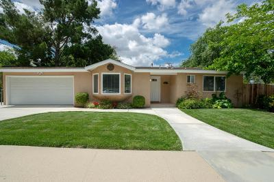 Thousand Oaks Single Family Home Active Under Contract: 808 Bury Circle