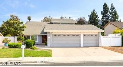 Newbury Park Single Family Home Active Under Contract: 786 Pamela Wood Street
