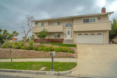 Thousand Oaks Single Family Home For Sale: 4355 Avenida Prado
