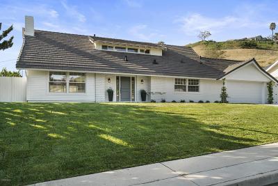 Thousand Oaks Single Family Home For Sale: 2435 Drake Drive