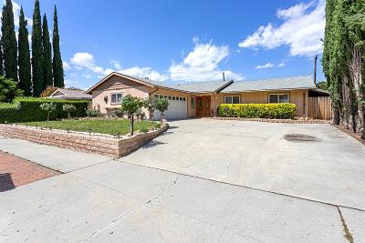 Simi Valley Single Family Home Active Under Contract: 5279 Katherine Street