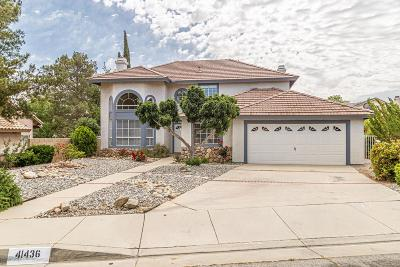 Quartz Hill CA Single Family Home For Sale: $439,900