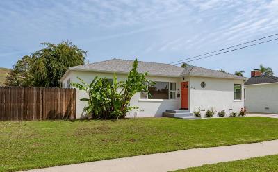 Ventura Single Family Home For Sale: 2989 Martha Drive