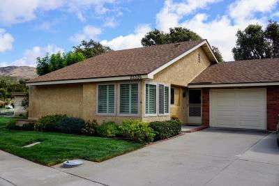 Camarillo Single Family Home For Sale: 25326 Village 25
