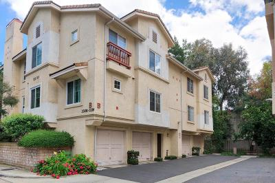 Westlake Village Condo/Townhouse Active Under Contract: 3312 Holly Grove Street
