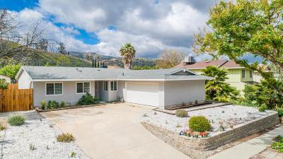 Simi Valley Single Family Home For Sale: 549 Appleton Road