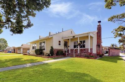 Long Beach Single Family Home For Sale: 6702 East Parapet Street