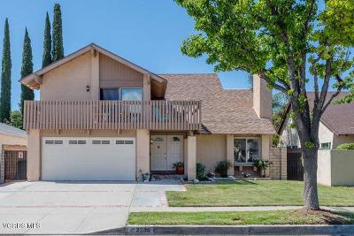 Simi Valley Single Family Home For Sale: 3936 Bayside Street