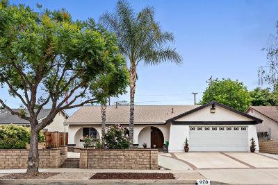 Simi Valley Single Family Home For Sale: 978 Ashford Street