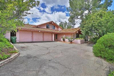 Westlake Village Single Family Home Sold: 3617 Twin Lake Ridge