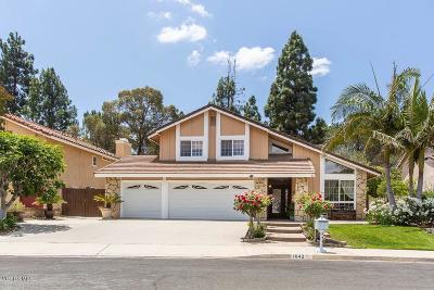Thousand Oaks Single Family Home For Sale: 1042 Chatham Court
