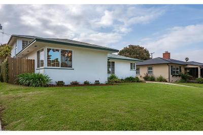 Ventura County Single Family Home For Sale: 250 Palomares Avenue