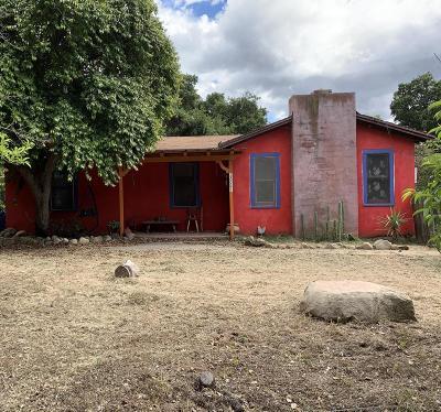 Ojai Single Family Home For Sale: 12681 Sisar Road