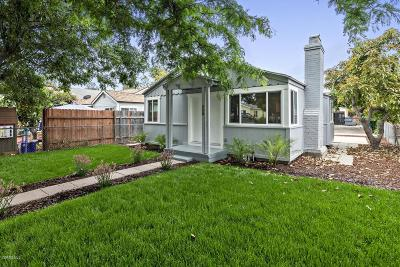 Ventura County Single Family Home For Sale: 230 California Street