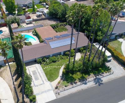 Ventura County Single Family Home For Sale: 1436 Montgomery Road