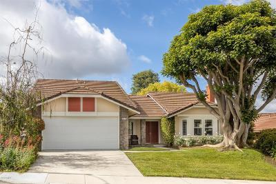 Thousand Oaks Single Family Home Active Under Contract: 2134 Peak Place