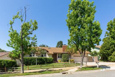 Simi Valley Single Family Home For Sale: 1177 Rambling Road