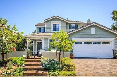 Moorpark Single Family Home Active Under Contract: 4484 Coffeetree Lane