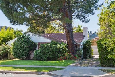 Sherman Oaks Single Family Home Active Under Contract: 4951 Varna Avenue