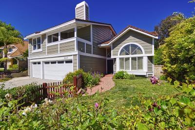 Thousand Oaks Single Family Home For Sale: 3230 Bordero Lane