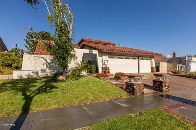 Simi Valley Single Family Home Active Under Contract: 3058 Sapphire Avenue