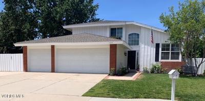 Thousand Oaks Single Family Home Active Under Contract: 665 Azalea Street