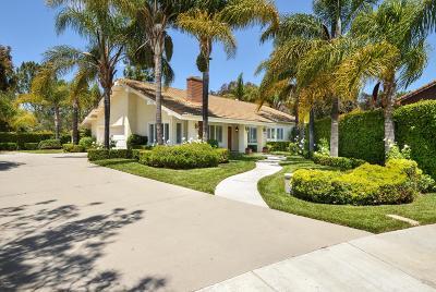 Camarillo Single Family Home Active Under Contract: 6191 Joshua