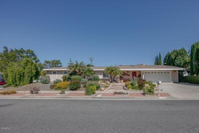 Thousand Oaks Single Family Home Active Under Contract: 1067 Windsor Drive