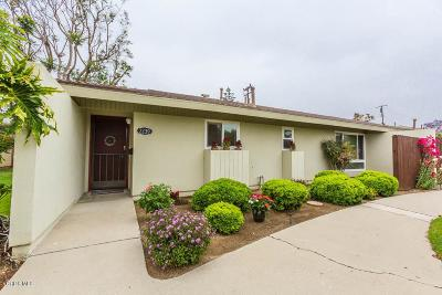 Camarillo Condo/Townhouse Active Under Contract: 2239 Camilar Drive