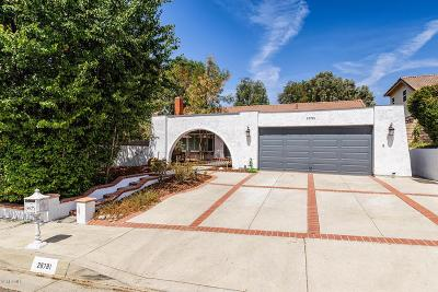 Agoura Hills Single Family Home For Sale: 28781 Eagleton Street