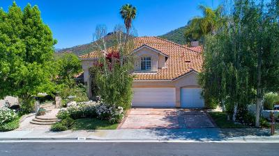 Westlake Village Single Family Home Active Under Contract: 2564 Kirsten Lee Drive