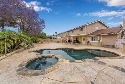 Camarillo Single Family Home Active Under Contract: 1075 North Agusta Avenue