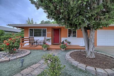 Ojai Single Family Home Active Under Contract: 415 South Pueblo Avenue