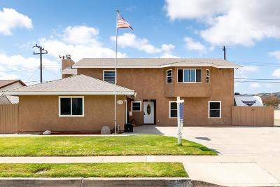 Camarillo Single Family Home For Sale: 1895 Dewayne Avenue