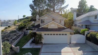 Saugus Single Family Home For Sale: 22740 Boxwood Lane