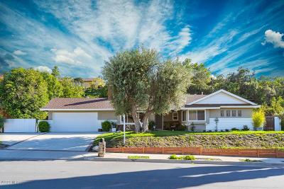 Thousand Oaks Single Family Home Active Under Contract: 2196 Hood Drive
