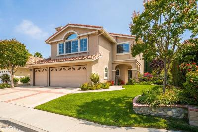 Thousand Oaks Single Family Home For Sale: 1796 Fox Springs Circle