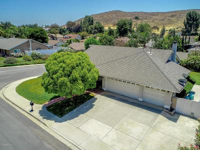 Thousand Oaks Single Family Home Active Under Contract: 406 Raindance Street