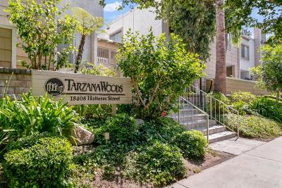 Tarzana Condo/Townhouse Active Under Contract: 18408 Hatteras Street #13