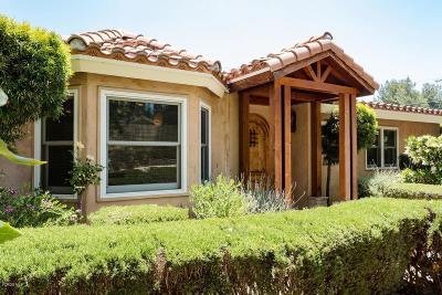 Thousand Oaks Single Family Home For Sale: 1316 Calle Castano